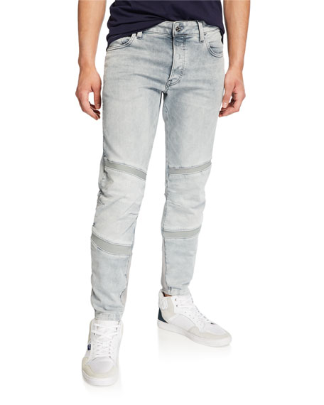 G-Star Men's Motac Slim Distressed Jeans - Wess