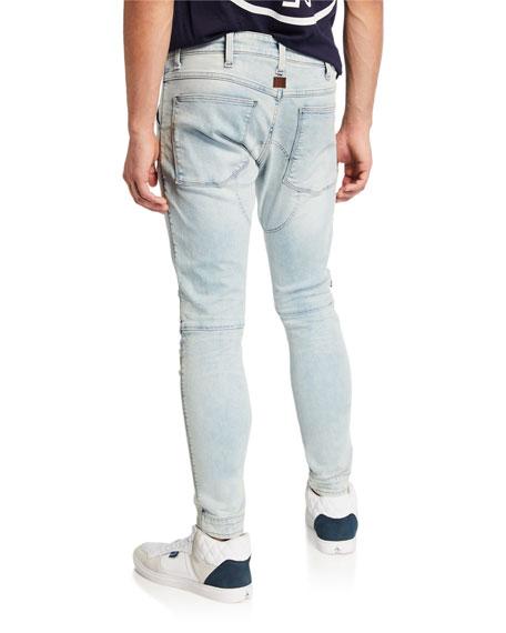 G-Star Men's 5620 Zip-Trim Skinny Jeans - Elto Light