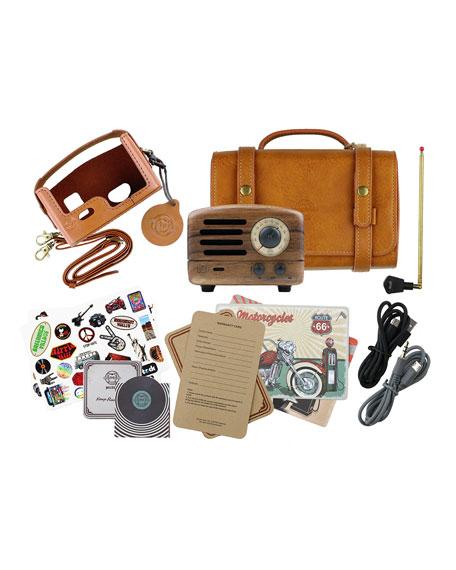 MUZEN OTR Wood Portable Radio Bluetooth Speaker