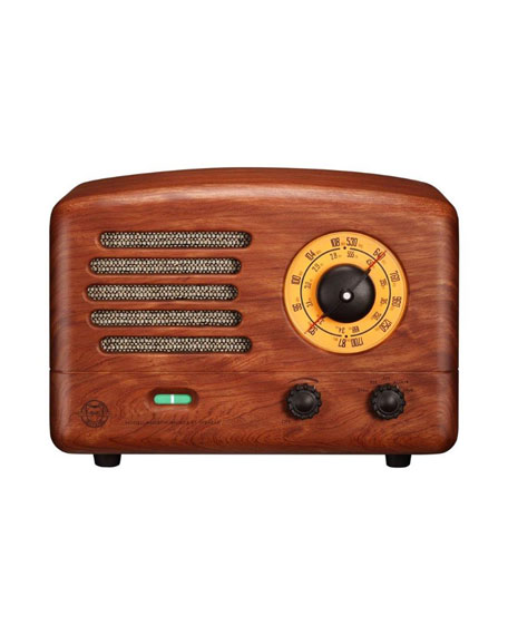 MUZEN Original II Vintage FM/AM Radio & Bluetooth Speaker