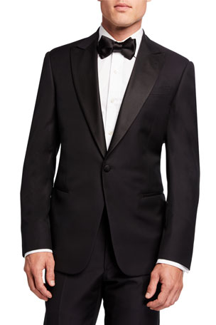 Giorgio Armani Men's Micro-Design Two-Piece Tuxedo