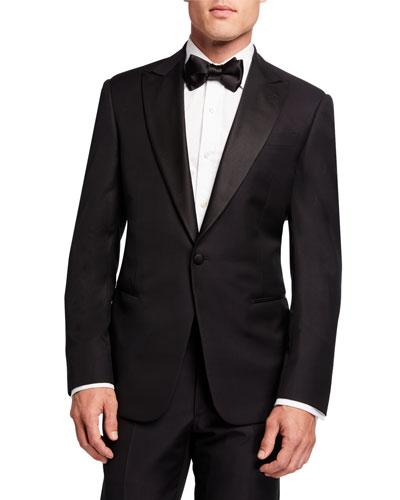 Men's Micro-Design Two-Piece Tuxedo