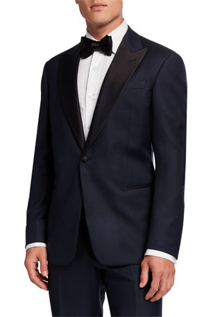 Giorgio Armani Men's Satin-Trim Formal Tuxedo