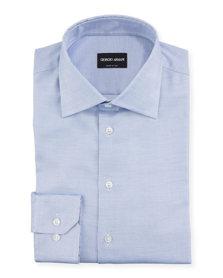 Giorgio Armani Men's Neat Dress Shirt