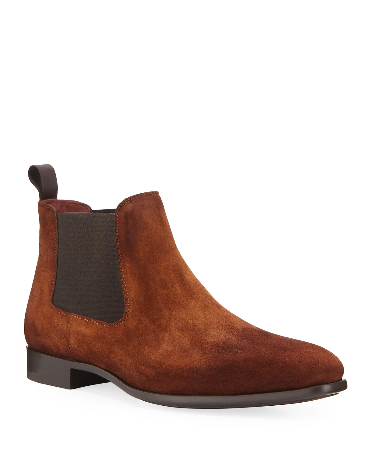 mens-suede-chelsea-boots by magnanni