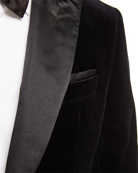 BOSS Men's Slim-Fit Velvet Dinner Jacket