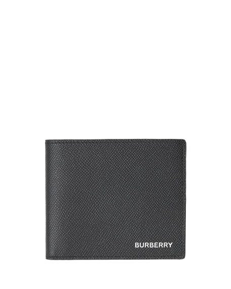 Burberry Men's Regency Grain Leather Bi-fold Wallet