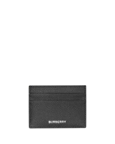 Burberry Men's Sandon Grain Leather Card Case