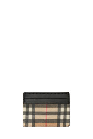 Burberry Men's Sandon Vintage Check Card Case