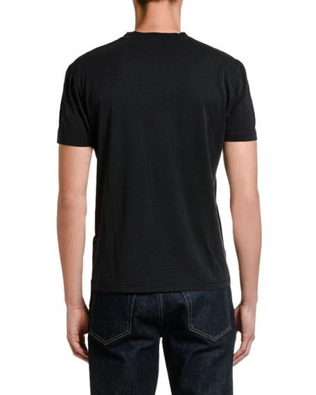 TOM FORD Men's Solid Jersey Crewneck T-Shirt
