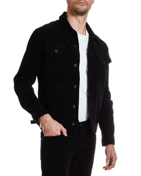 TOM FORD Men's Iconic Corduroy Denim Jacket