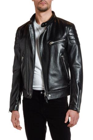 TOM FORD Men's Moto Leather Jacket