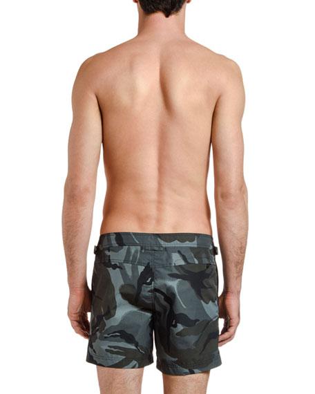 TOM FORD Men's Camo-Pattern Swim Trunks
