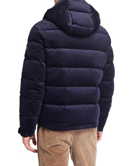 Ralph Lauren Men's Corduroy Puffer Jacket | Neiman Marcus