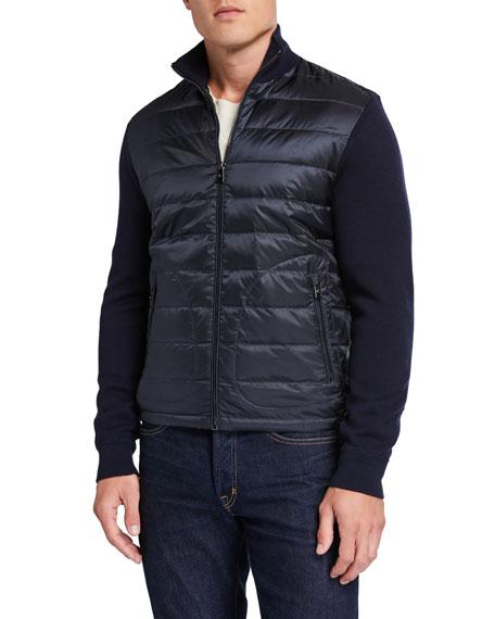 Ralph Lauren Purple Label Men's Hybrid Lightweight Full-Zip Jacket