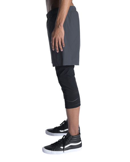 Isaora Men's Sprinter Hybrid Active Shorts