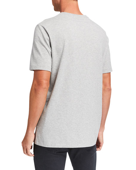 Image 2 of 2: THE ROW Men's Luke Cotton T-Shirt