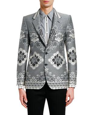 4da6c614a526c8 Alexander McQueen Men's Shirts & Clothing at Neiman Marcus