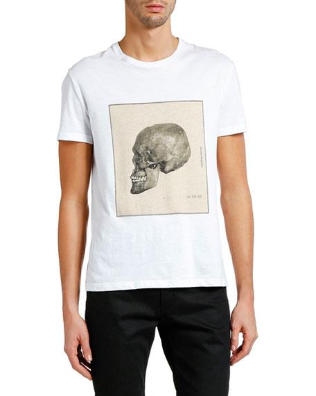 Alexander McQueen Men's Study Skull Short-Sleeve Graphic T-Shirt