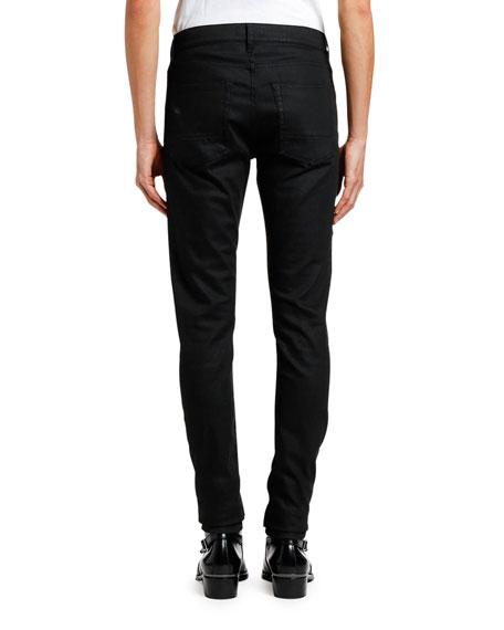 Alexander McQueen Men's Denim Jeans with Studded Pockets