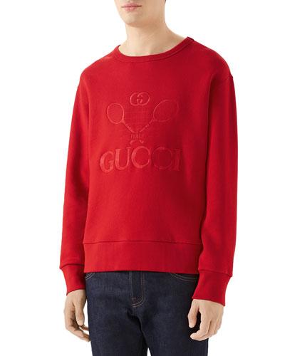 Men's Club Tonal Logo Sweatshirt
