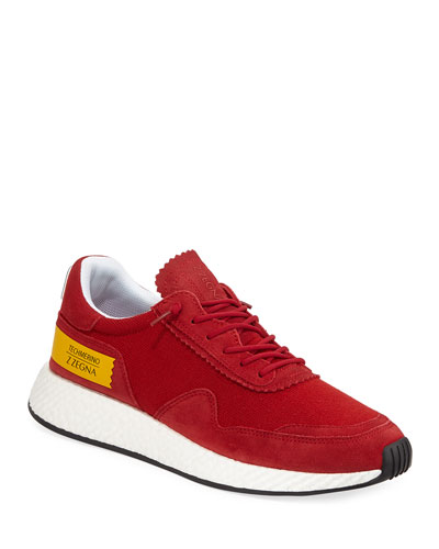 Men's Piuma TechMerino Virgin Wool Trainer Sneakers