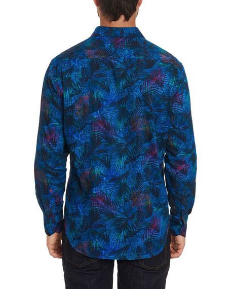 Robert Graham Men's Leafy Dreams Tailored-Fit Sport Shirt