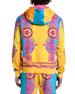 Versace Men's Neon Baroque Pullover Hoodie