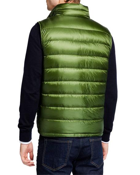Herno Men's Reversible Puffer Vest