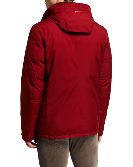 Herno Men's GoreTex Short Jacket