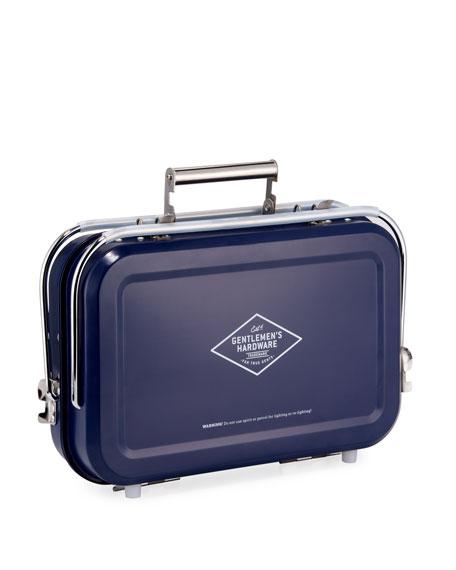 Gentlemen?s Hardware Stainless Steel Portable Barbecue