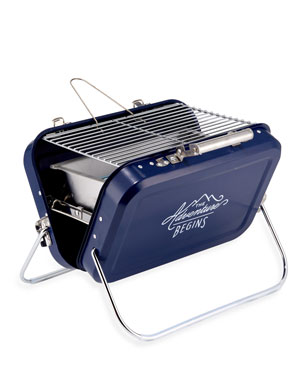 229a4204521e15 Gentlemen?s Hardware Stainless Steel Portable Barbecue