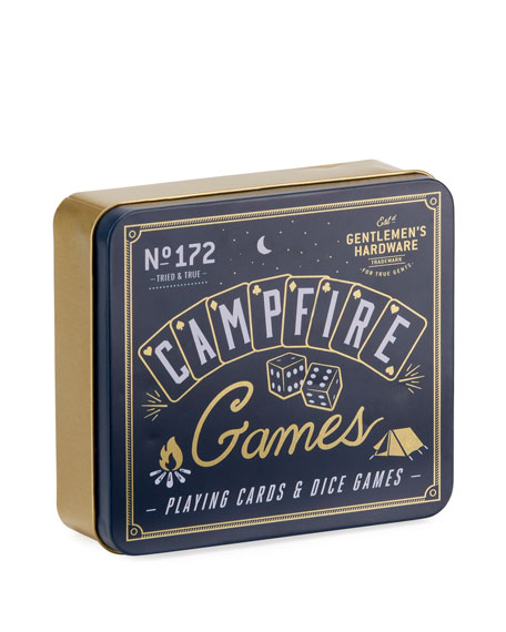 Gentlemen's Hardware Campfire Games, Playing Cards & Dice