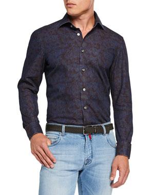 a9b37a0ce7 Kiton Dress Shirts: Checks & Sports at Neiman Marcus