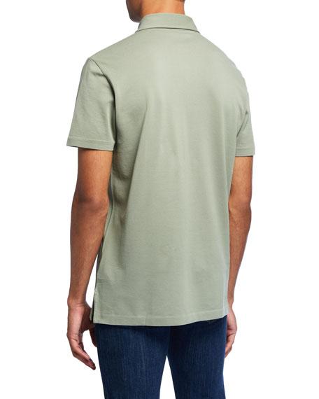 Ralph Lauren Men's Jersey Pocket Polo Shirt, Green