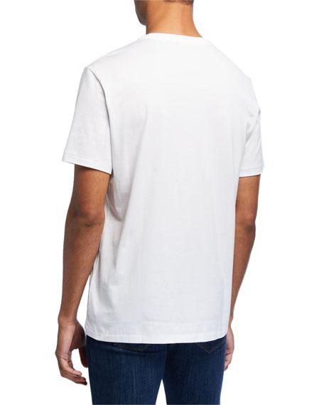 Ralph Lauren Purple Label Men's Washed Cotton Pocket T-Shirt, White