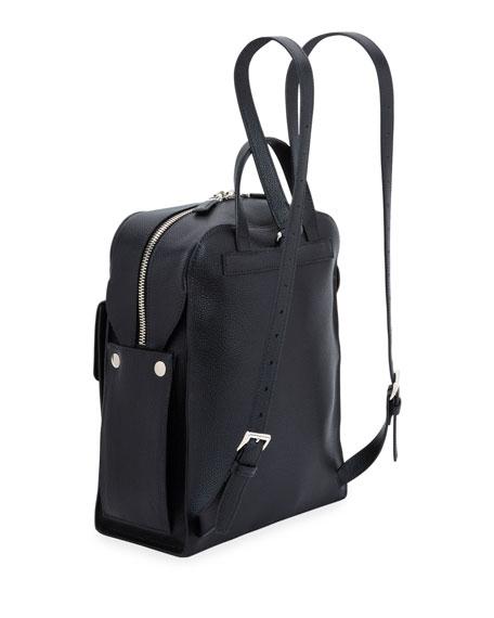 Prada Men's Medium Soft Leather Backpack