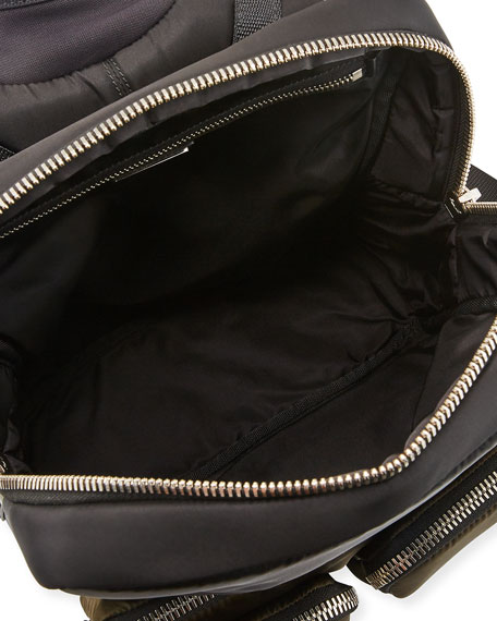 Prada Men's Medium Boxy Nylon Backpack