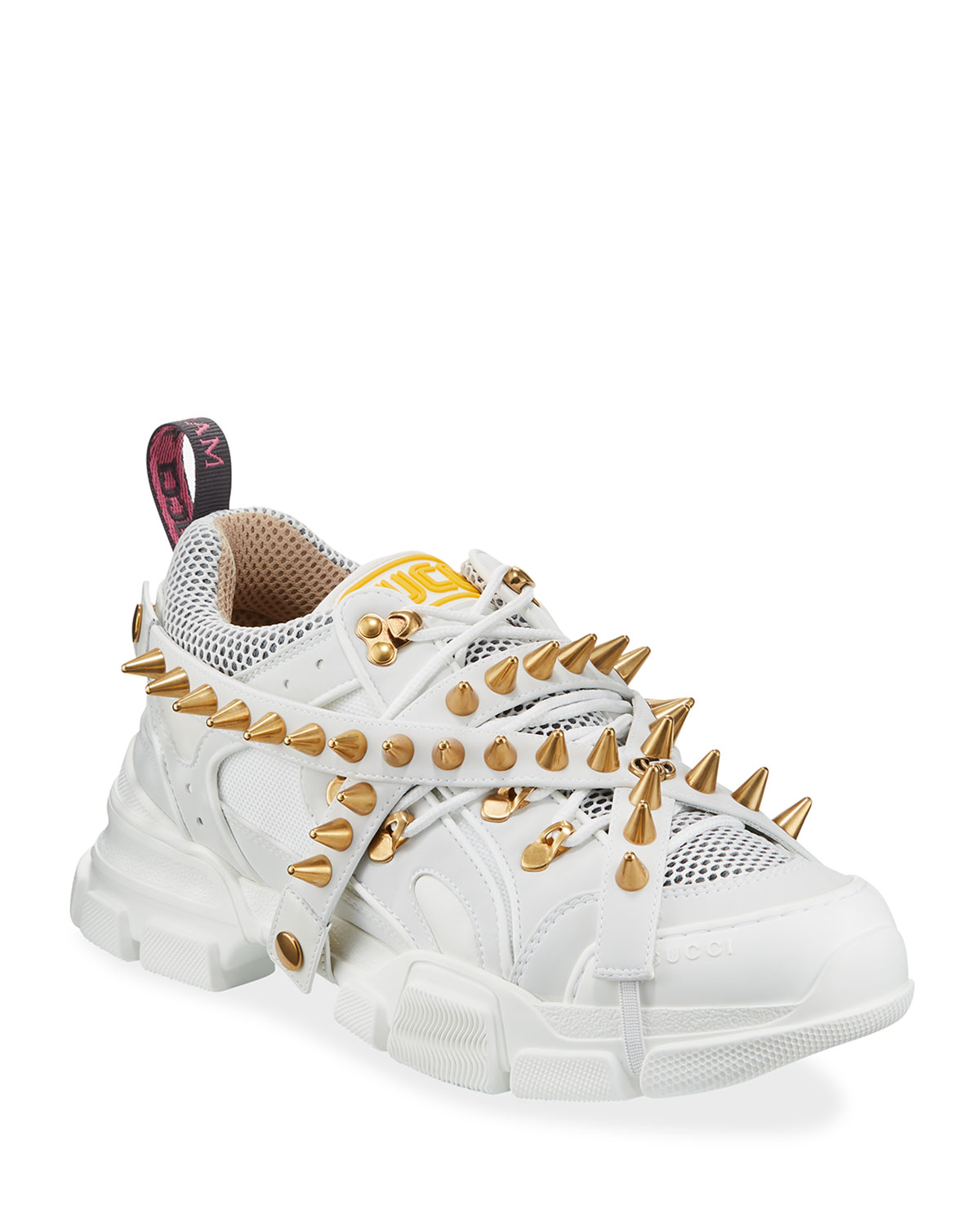 gucci spiked sneakers off 62% - www
