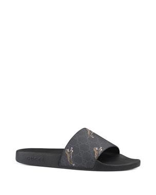 c4b415a6e4 Men's Designer Sandals & Flip Flops at Neiman Marcus