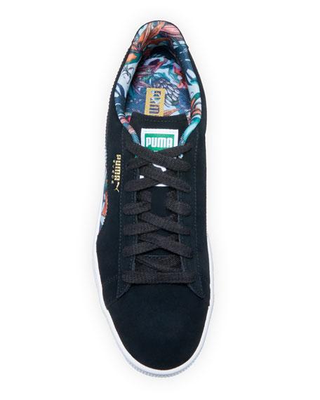 Puma Men's Secret Garden Suede Low-Top Sneakers
