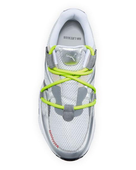 Puma Men's x HAN Cell Venom Futro Mesh/Metallic Leather Sneakers