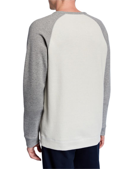 Vince Men's Long-Sleeve Raglan T-Shirt