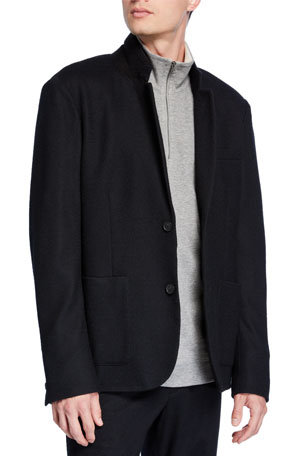 Vince Men's Wool-Blend Blazer