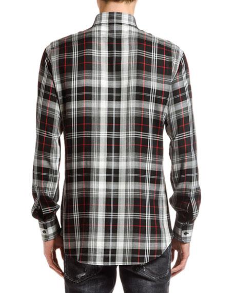 Dsquared2 Men's Plaid Sport Shirt