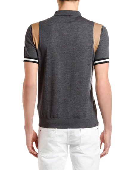 Dsquared2 Men's Wool Knit Polo Shirt
