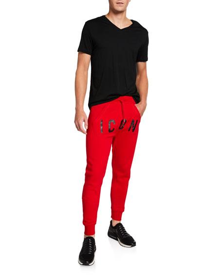 Dsquared2 Men's Icon Typographic Sweatpants