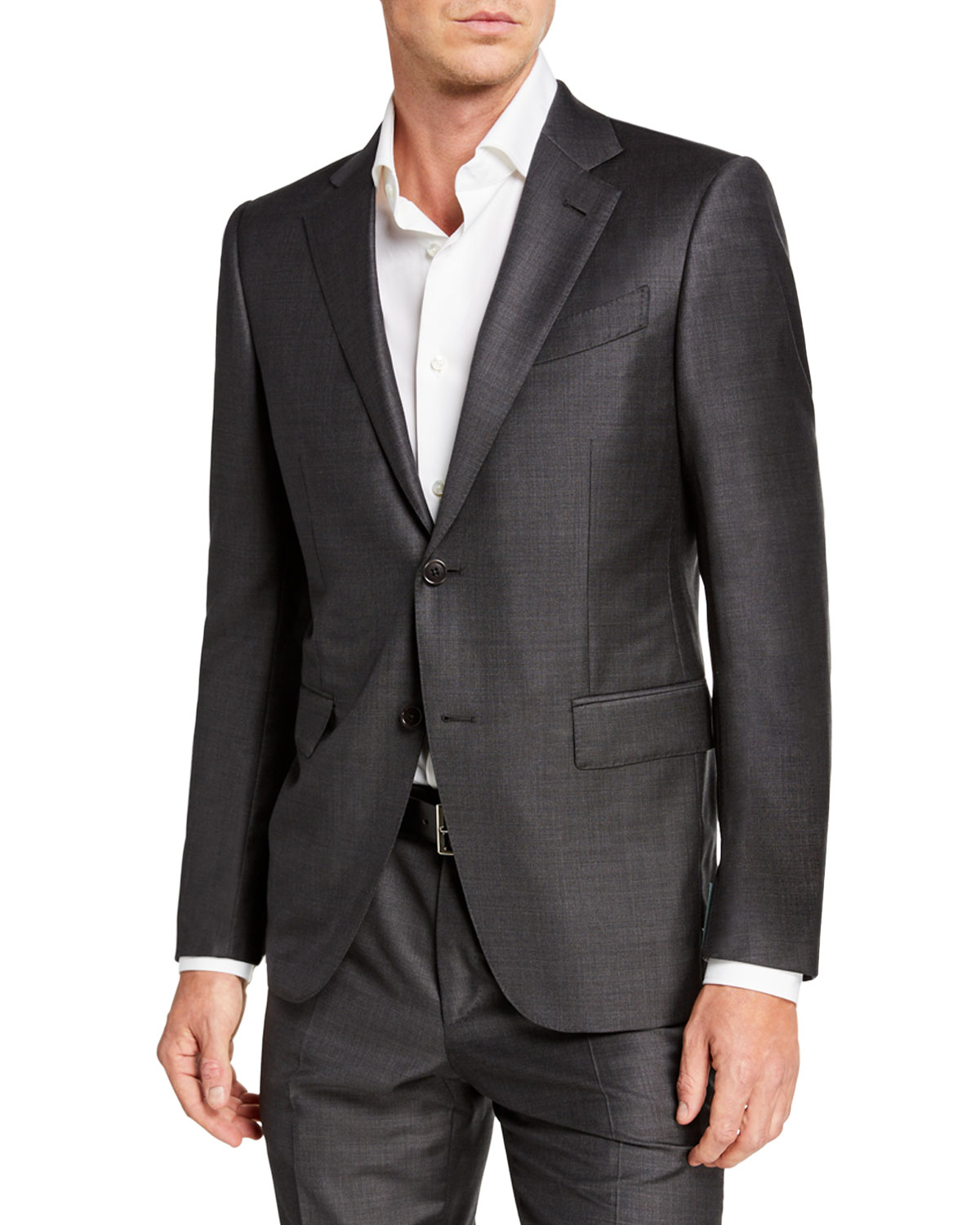 Men's Trofeo Wool Two Piece Suit by Ermenegildo Zegna