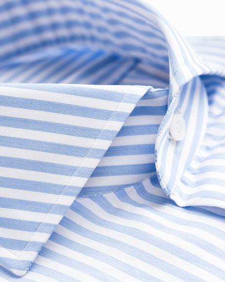Isaia Men's Bengal Stripe Dress Shirt