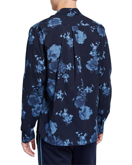 Vince Men's Floral-Print  Classic-Fit Sport Shirt